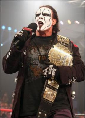 Sting. A 2008 World Champion. Really?