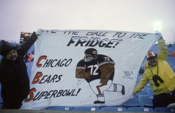"William ""Fridge"" Perry became a household name due to recognition the 1985 Bears received."