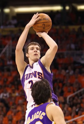 PHOENIX - MAY 29:  Goran Dragic #2 of the Phoenix Suns in action during Game Six of the Western Conference finals of the 2010 NBA Playoffs against the Los Angeles Lakers at US Airways Center on May 29, 2010 in Phoenix, Arizona. The Lakers defeated the Sun