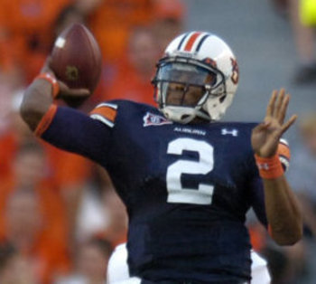 Cam Newton looks to carve up Clemson.