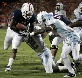 Nic Grisgby and the Arizona Wildcats put on a show against the Citadel.
