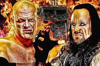 Kane will defend the World Heavyweight Championship against The Undertaker at Night of Champions.