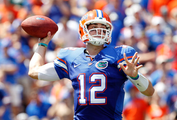 John Brantley is looking to revitalize a Florida passing attack that currently ranks 104th nationally.