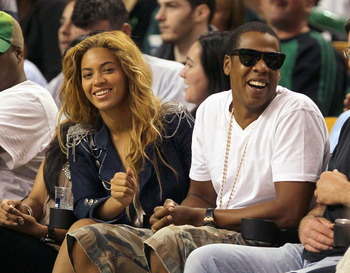 Jay Z and Beyoncé Knowles