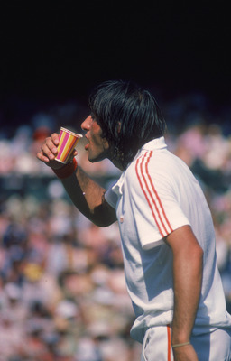The colorful Ilie Nastase
