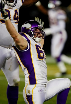 Will Jared Allen be practicing his calf-roping routine on Sunday?