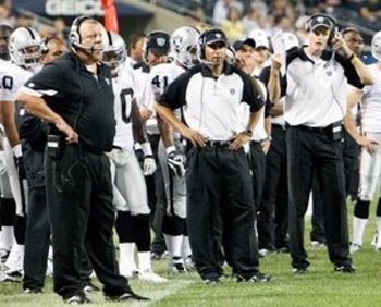 The Raiders' coaching staff must do a better job getting the team ready to play.