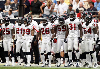 HOUSTON - SEPTEMBER 12:  The Houston Texans at Reliant Stadium on September 12, 2010 in Houston, Texas.  (Photo by Ronald Martinez/Getty Images)
