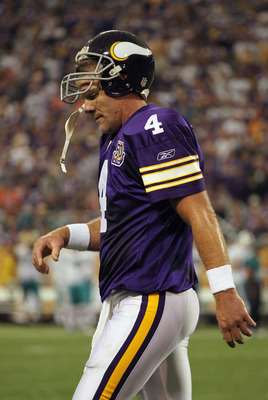 Brett Favre might be rethinking this decision to not retire again.
