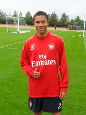 Wellington won't be with Arsenal full time until he turns 18 in January 2011.