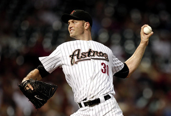 HOUSTON - AUGUST 30:  Pitcher J.A. Happ #30 of the Houston Astros throws against the St. Louis Cardinals at Minute Maid Park on August 30, 2010 in Houston, Texas.  (Photo by Bob Levey/Getty Images)
