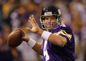There may come a time that Brett Favre actually retires.