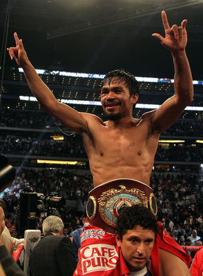 Pacquiao is one of the reasons that the best boxers are still a bigger draw than MMA.