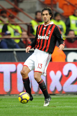 MILAN, ITALY - FEBRUARY 28:  Alessandro Nesta of Milan in action during the Serie A match between Milan and Atalanta at Stadio Giuseppe Meazza on February 28, 2010 in Milan, Italy.  (Photo by Tullio M. Puglia/Getty Images)