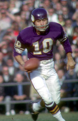 1962 was Fran Tarkenington's second year in the NFL.