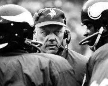 Bud Gant would lead the Vikings to four Super Bowls.