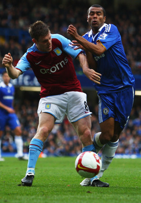 Milner in his Villa days against Cole
