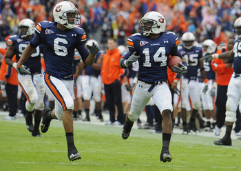 Auburn Cornerback Demond Washington