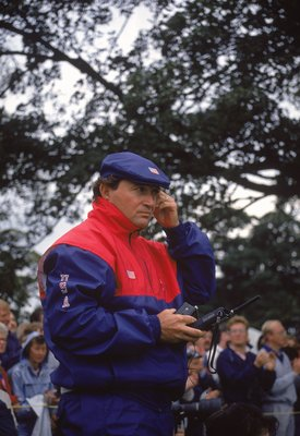 22 Sep 1989:  USA team captain Ray Floyd during the Ryder Cup at The Belfry in Sutton Coldfield, England.  \ Mandatory Credit: David Cannon /Allsport