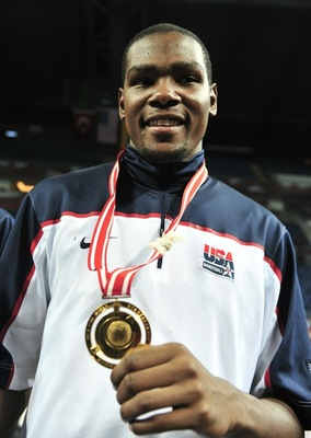 Kevin Durant - MVP of FIBA World Championships in Turkey (2010)