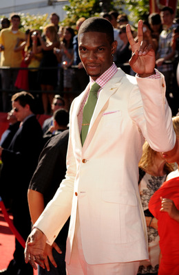 LOS ANGELES, CA - JULY 14:  Chris Bosh of the Miami Heat arrives at the 2010 ESPY Awards at Nokia Theatre L.A. Live on July 14, 2010 in Los Angeles, California.  (Photo by Jason Merritt/Getty Images)