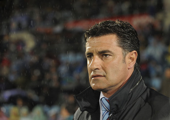 Getafe manager Michel will be delighted with his side's victory