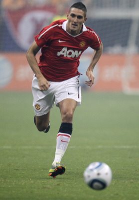 Federico Macheda at Manchester United