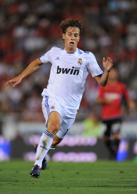 Sergio Canales - possible long term playmaker for Los Blancos