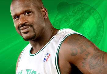 Shaq's Addition To The Celtic's Gives Them Inside Relief For Kendrick Perkins