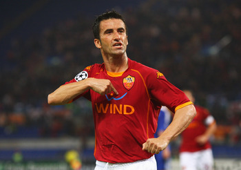 Christian Panucci played a key role in Roma's winning of the Scudetto in 2001.