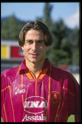Jul 1996:  A portrait of Bruno Conti of Roma football club. Mandatory Credit: Allsport UK