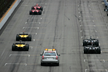 Only six cars started the 2005 US Grand Prix