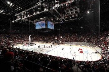 The 2009 NHL All-Star Game at the Bell Centre in Montreal