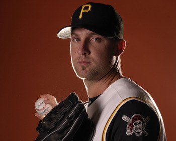BRADENTON, FL - FEBRUARY 24:  Pitcher John Van Benschoten of the Pittsburgh Pirates enters a photo booth to take pictures during spring training media day on February 24, 2008 at Pirate City in Bradenton, Florida.  (Photo by Marc Serota/Getty Images)