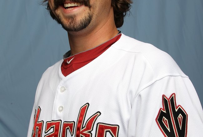 TUCSON, AZ - FEBRUARY 27:  Clay Zavada of the Arizona Diamondbacks on February 27, 2010 in Tucson, Arizona.  (Photo by Ronald Martinez/Getty Images)