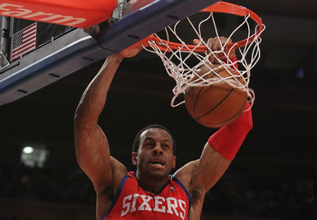 Even after Iguodala's strong summer, the 76ers would include him as the centerpiece of this trade.