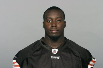 CLEVELAND - 2009:  Marcus Benard of the Cleveland Browns poses for his 2009 NFL headshot at photo day in Cleveland, Ohio. (Photo by NFL Photos)