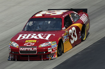 DOVER, DE - SEPTEMBER 24:  Clint Bowyer drives the #33 BB&T Chevrolet during practice for the NASCAR Sprint Cup Series AAA 400 at Dover International Speedway on September 24, 2010 in Dover, Delaware.  (Photo by Nick Laham/Getty Images)