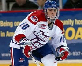 Forward David Vallorani - taken from hockeyeastonline.com