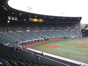 Portland's PGE Park, home to the Padres' Triple-A affiliate