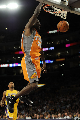 LOS ANGELES, CA - MAY 19:  Jason Richardson #23 of the Phoenix Suns dunks the ball against the Los Angeles Lakers in the first quarter of Game Two of the Western Conference Finals during the 2010 NBA Playoffs at Staples Center on May 19, 2010 in Los Angel