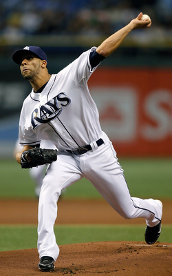 ST. PETERSBURG, FL - SEPTEMBER 28:  Pitcher David Price #14 of the Tampa Bay Rays pitches against the Baltimore Orioles during the game at Tropicana Field on September 28, 2010 in St. Petersburg, Florida.  (Photo by J. Meric/Getty Images)
