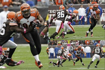 Jermaine Gresham Getting it Done