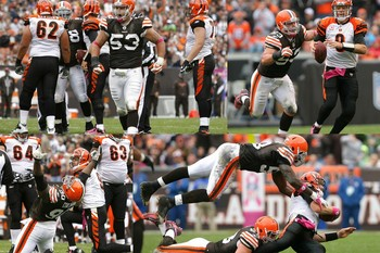 Browns Defensive Line Penetrates and Punishes