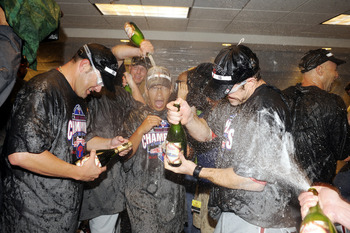 The Phillies celebrate their NL East Division crown, and are ready for more...