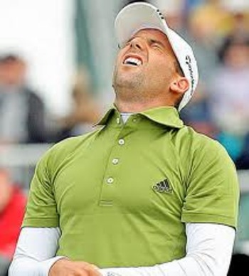 Sergio Garcia at the 2005 Wachovia Championship