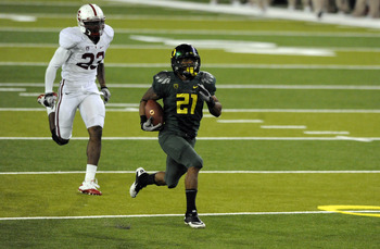 James ran wild against Oregon