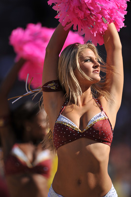 Tampa Bay cheerleader - This picture has nothing to do with the game