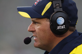 Rich Rodriguez is looking for his first win over the Spartans