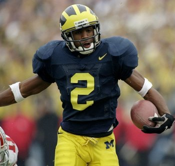 Michigan Heisman Trophy Winner Charles Woodson